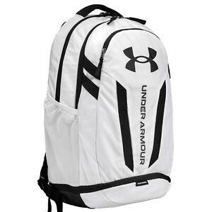Brand New! Under Armour Hustle 5.0 Backpack White 100