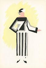 Sonia Delaunay pochoir, 1969  3455786