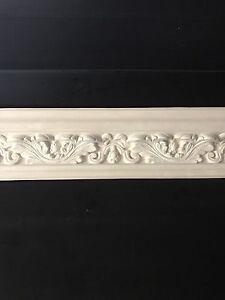 Plaster coving. Atheneum Leaf medium C49