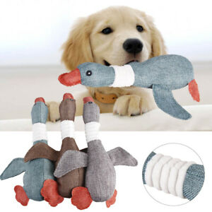 Pet Dog Interactive Chew Toys Funny Toy Sound Squeak Squeaky Stuffed Cat Puppy