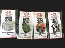 GenCon RARE Pin Bazaar Staff FULL SET BRAND NEW