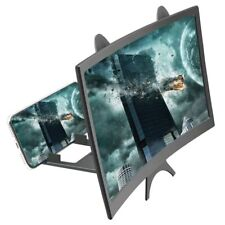 Curved Mobile Phone Video Screen Amplifier 3D HD Folding Desktop Magnifier Stand