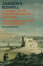 "JOHNSON & BOSWELL  - ""A JOURNEY TO THE WESTERN ISLANDS OF SCOTLAND"" - OUP (1978)"