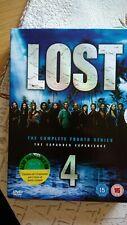 Lost Saison 4 DVD Coffret Complet Classique version anglaise /italien/espagnol