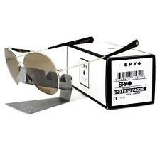 Spy 673186274236 Presidio Crosstown Collection Gold Umber Metal Frame Sunglasses