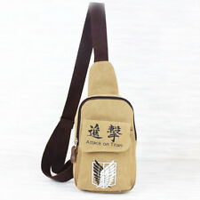 New Cosplay Anime Attack on Titan Travel Bag Smalll Canvas Backpack