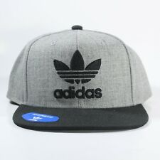 Adidas Hat Snap Back New(Color:Gray and Black)One Size Fits All