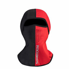 ROCKBROS Winter Cycling Skiing Thermal Warm Face Mask Outdoor Cap Black Red