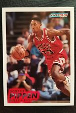 Scottie Pippen 1993 1994 Fleer #32 Chicago Bulls NBA Basketball