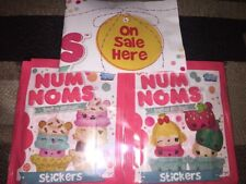 Topps Num Noms Stickers X55 Packets