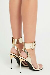 Sass & Bide THE COUNTESS Metallic HEELS Shoes BNIB RRP $490 Size 39 Free Post