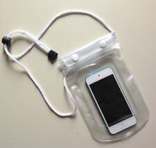 Waterproof CLEAR Pouch for Phone / Camera Keys Money Dry Bag Sports Beach Case