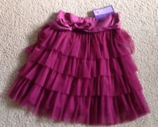 NWT~Daisy Petal Purple Tiered Ruffle Tulle Skirt~Size 11-12~Girls Party Birthday