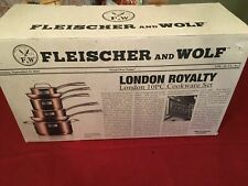 Fleischer & Wolf London Royalty 10-Piece Cookware Set in Copper