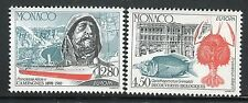 MONACO 1994 EUROPA-DISCOVERIES/VIEW/RESEARCH SHIP/OCEANOGRAPHY/MAP/MARINE LIFE