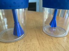 Plastic Drinking Cups with Straws