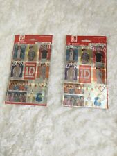 One Direction 1D Stickers Set of 24 Unopened, 2 Packs New Rare Stickety Doo Da