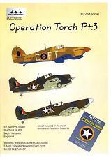 Blackbird Decals 1/72 OPERATION TORCH ALLIED AIRCRAFT Part 3