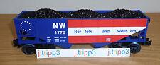 LIONEL 6-82427 NORFOLK WESTERN N&W 1776 COAL HOPPER CAR TRAIN O GAUGE PATRIOT