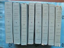 MEMOIRES DU DUC DE ROVIGO, 1828 (Napoléon, Egypte, Russie...) 8 volumes complet.