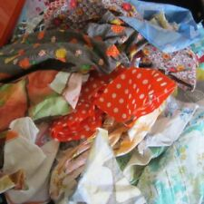 Unbranded Craft Fabric Samples, Scraps Cotton Blend Craft Fabric Remnants