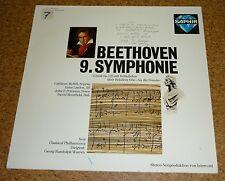 LP Vinyl Beethoven 9 Symphonie  Saphir Intercord Warren Schillers Ode