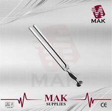 M@K Fine Quality Tuning Fork - Medical Grade Gardiner Brown 128Hz 22cm