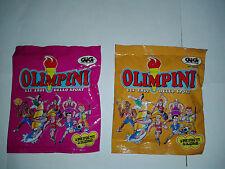 2 Bustine Olimpini Packets Nuove e Sigillate Giocattoli Collezionalbili Anni '90