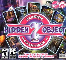 DARK ROMANCE HEART OF THE BEAST + CURIO SOCIETY Hidden Object 7 PACK PC Game NEW