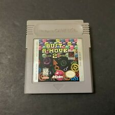 BUST A MOVE 2 ARCADE EDITION Cartridge Nintendo Gameboy Games US Version