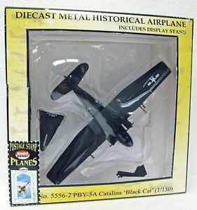 1939 US Navy PBY-5A Catalina Black Cat Flying Boat 1/150 Model Power 5556-2 MB