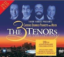 Luciano Pavarotti, Plácido Dom - The 3 Tenors In Concert - Los Ange (NEW CD+DVD)