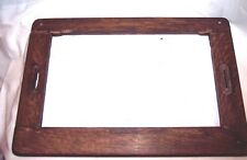 EDISON TRIUMPH PHONOGRAPH OAK BED PLATE FRAME FOR RESTORATION