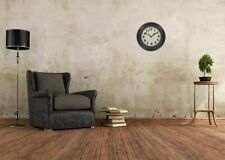 """Rustic Extra Large Wall Clock Classic Farmhouse Living Room Kitchen Bronze 24"""""""