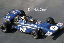 FRANCOIS CEVERT Tyrell MARZO 701 f1 Stagione 1970 foto 4