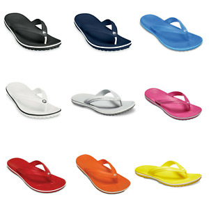 Crocs Mens Womens Flip Flops Crocband Beach Summer Pool Toe Sandals Shoes
