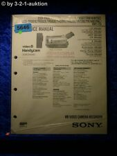 Sony service manual CCD tr620e tr502e tr501e tr740e tr720e tr502e tr503e (#5646)