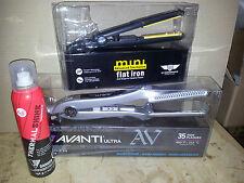 "Avanti Nano Silver Titanium 1-3/8"" Flat Iron - AVCROC [Fall Deal]"
