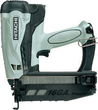 "Hitachi NT65GS 2-1/2"" Gas Powered 16Ga Finish Nailer Kit NEW w/Factory Warranty!"