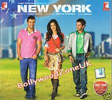 Nueva York - Original Bollywood CD con GRATIS yashraj Música DVD