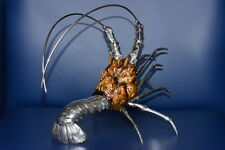 lobster aragosta in lastra di argento 925/°° sterling silver plated UNIQUE!!!