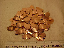 (10) Rolled Elongated US Cent, Penny w/ Ten Commandments Pressed Into It, Tract