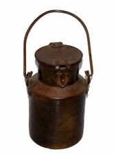 Vintage Brass Kitchenware Milk Pot/Container With Handle. G66-569