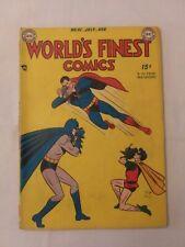 DC  World's Finest comics book # 41 Features Green Arrow