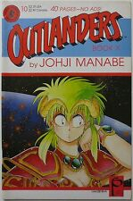 Outlanders #10 1989 Dark Horse Comics Book X Johji Manabe Hakusensha (C2008)