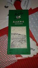 Guide Vert Michelin Algérie et Sahara  édition unique de 1956 RARE