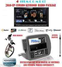 KENWOOD RADIO DDX672BH + SCOSCHE GM5201AB 2010 +UP CHEVY CAMARO DASH KIT INSTALL