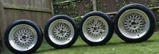 """Genuine BBS RC090 BMW STYLE 5 17"""" Alloy Wheels with New Tyres BMW E28 5 x 120"""