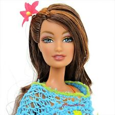 Benetton Barbie Lara sculpt Fashion fever Brunnette New out of Box