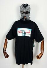 Diamond supply co t-shirt Chemise Tee Transparent black EN S